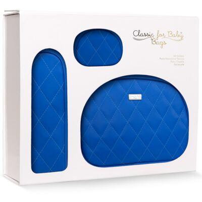 Imagem 2 do produto Kit Acessórios para bebe: 01 Necessaire + 01 Porta Chupeta + 01 Porta Mamadeira Colors Klein - Classic for Baby Bags