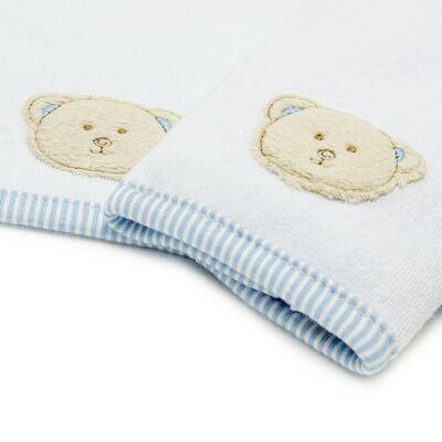 Imagem 2 do produto Kit com 2 fraldas de boca atoalhadas Kody Bear - Classic for Baby