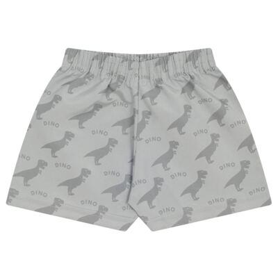 Imagem 3 do produto Camiseta c/ Shorts em tactel Blue Dino - Livy