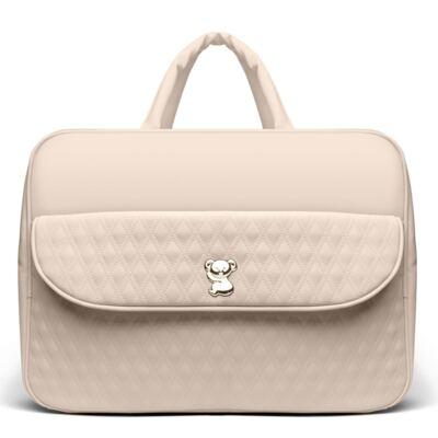 Imagem 2 do produto Kit Mala Maternidade para bebe + Bolsa Veneza + Frasqueira Térmica Milão + Kit Acessórios Golden Koala Caqui - Classic for Baby Bags