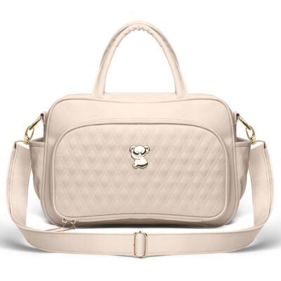 Imagem 3 do produto Kit Mala Maternidade para bebe + Bolsa Veneza + Frasqueira Térmica Milão + Kit Acessórios Golden Koala Caqui - Classic for Baby Bags