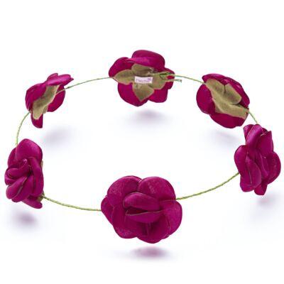 Imagem 1 do produto Coroa Rosas Pink - Roana