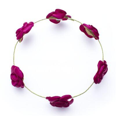 Imagem 2 do produto Coroa Rosas Pink - Roana