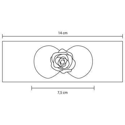 Imagem 3 do produto Faixa meia Laço Branco - Roana