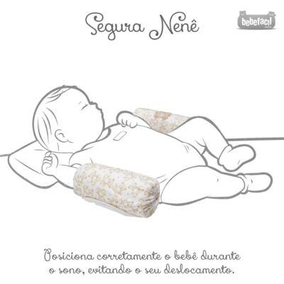 Imagem 3 do produto Segura nenê em suedine Nature Little Friend Bear - Classic for Baby