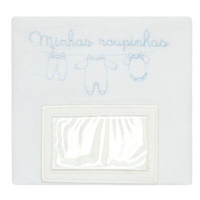 Imagem 2 do produto Kit 3 Saquinhos para maternidade Minhas Roupinhas Azul - Classic for Baby