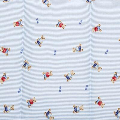 Imagem 3 do produto Edredom para berço em algodão egípcio c/ jato de cerâmica e filtro solar fps 50 Kody Bear - Classic for Baby