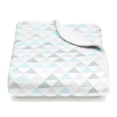 Imagem 1 do produto Manta c/ repelente natural Mosaico Azul - Nutti