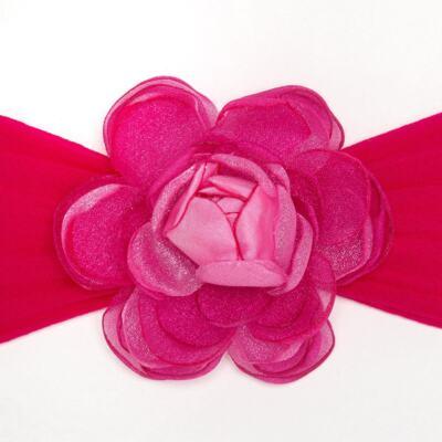 Imagem 2 do produto Faixa meia Flor Pink - Roana