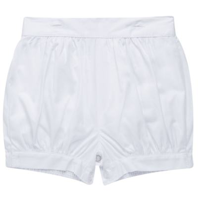 Imagem 5 do produto Camisa Colete & Gravata com Shorts em tricoline Branco - Sylvaz - SZ487 CONJUNTO CURTO BATIZADO C/ COLETE E GRAVATA-G