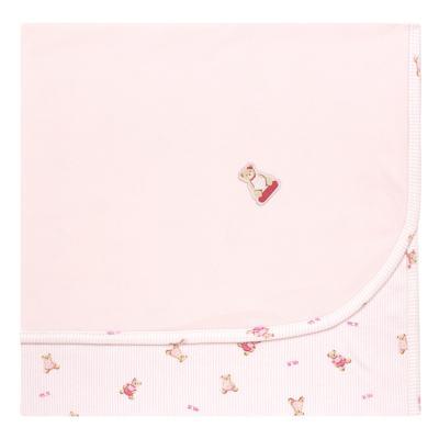 Imagem 1 do produto Manta para bebe em algodão egípcio c/ jato de cerâmica e filtro solar fps 50 Miss Bear - Mini & Kids