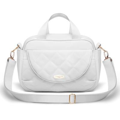 Imagem 1 do produto Bolsa Siena Golden Clean Branco - Classic for Baby Bags