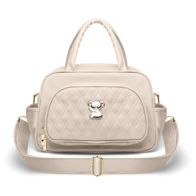 Imagem 1 do produto Bolsa Térmica para bebe Milão Golden Koala Caqui - Classic for Baby Bags