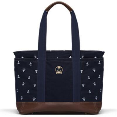 Imagem 1 do produto Bolsa maternidade para bebe Sidney em sarja Navy Marinho - Classic for Baby Bags