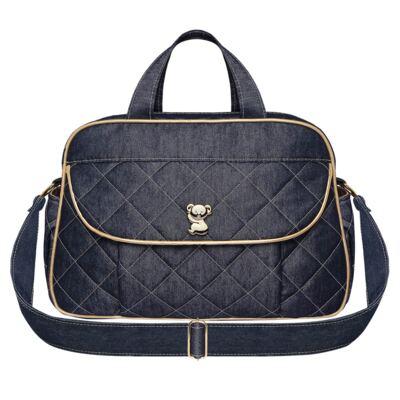 Imagem 1 do produto Bolsa maternidade para bebe Asturias Golden Denim - Classic for Baby Bags