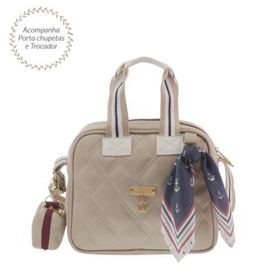 Imagem 1 do produto Frasqueira para bebe Luana Náutica Marfim - Masterbag