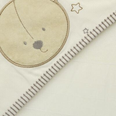 Imagem 2 do produto Toalha com capuz lateral para bebe Nature Cute Bear  - Classic for Baby