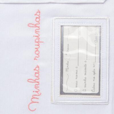 Imagem 3 do produto Kit 2 Saquinhos para maternidade Minhas Roupinhas Le Petit Rosa - Classic for Baby