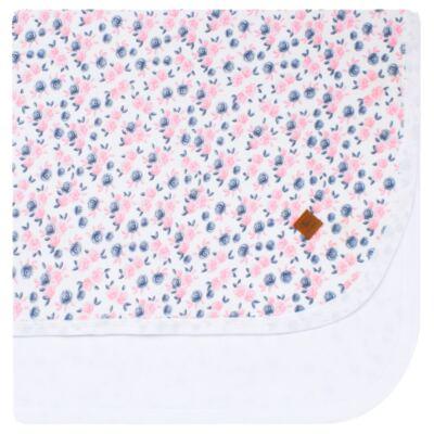 Imagem 1 do produto Manta para bebê em suedine Flourish - Mini Sailor