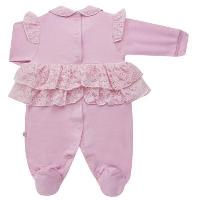 Imagem 6 do produto Jogo Maternidade para bebe com Macacão e Manta em suedine Gabrielly - Beth Bebê - BB8824 Saida Maternidade Suedine Gabrielly-P