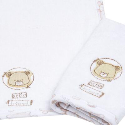Imagem 3 do produto Kit com 2 fraldas de boca para bebe atoalhadas Nature Little Friends - Classic for Baby