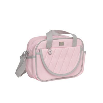 Imagem 3 do produto Bolsa maternidade + Frasqueira térmica Moon Rosa - Hey Baby