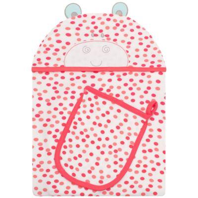 Imagem 1 do produto Toalha com capuz + Luva para bebe Zoo Hippa - Classic for Baby