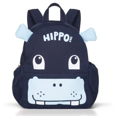 Imagem 1 do produto Mochila Escolar Hipopótamo - Cara de Criança