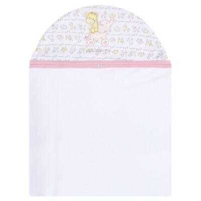 Imagem 2 do produto Toalha com capuz + Luva para bebe Elefantinha - Classic for Baby