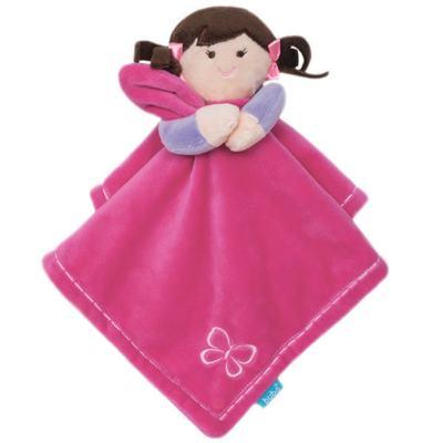 Imagem 1 do produto Naninha em soft My Doll Pink (3m+) - Buba