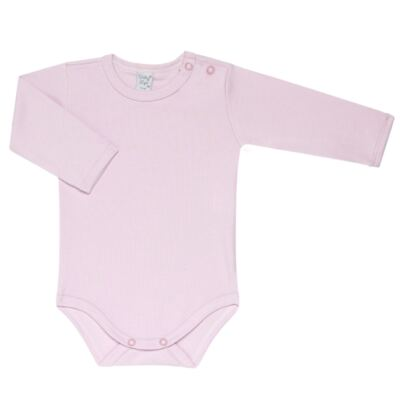 Imagem 3 do produto Kit 2 Bodies longos para bebe Flowery - Vicky Lipe - LTPBML10 PACK 2 BODEIS ML FLORIDO/LILÁS-M