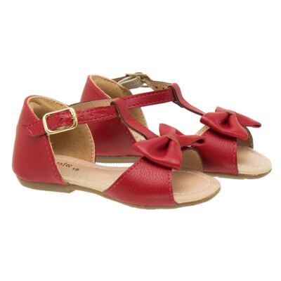 Imagem 1 do produto Sandália Laço em couro Vermelha - Lupie - LP12.26 SANDALIA NEW PELE VERMELHO-22