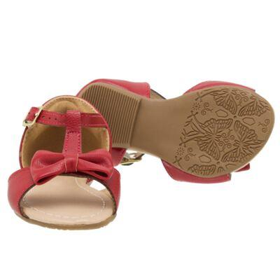 Imagem 2 do produto Sandália Laço em couro Vermelha - Lupie - LP12.26 SANDALIA NEW PELE VERMELHO-22