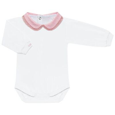 Imagem 5 do produto Conjunto Matelassê para bebe Ursinha: Casaco + Body longo + Calça - Roana