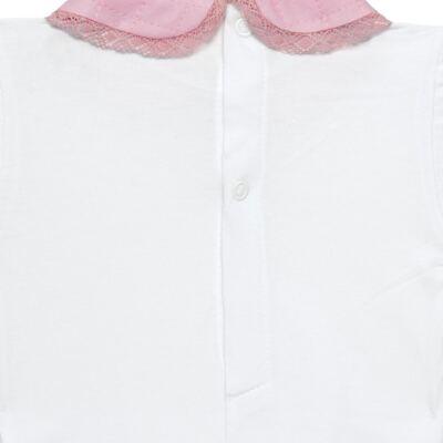 Imagem 6 do produto Conjunto Matelassê para bebe Ursinha: Casaco + Body longo + Calça - Roana