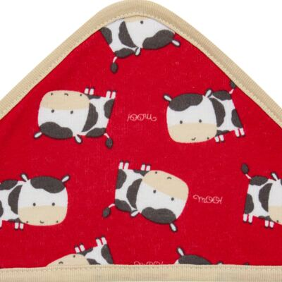 Imagem 2 do produto Toalha de banho com capuz para bebe Vaquinha - Classic for Baby