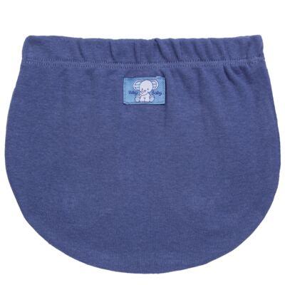 Imagem 5 do produto Pack Elefantinho: 02 Cobre Fraldas para bebe em high comfort - Vicky Baby - 1022-713 ELEF AZUL PK 2 COBRE BEBE SUED HIGH -G