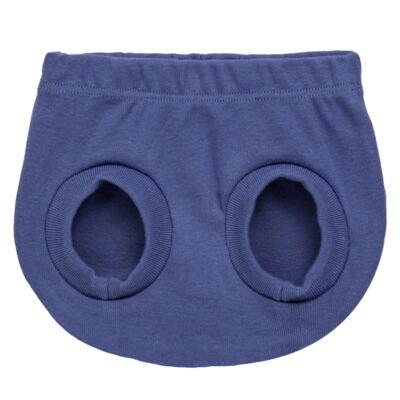 Imagem 4 do produto Pack Elefantinho: 02 Cobre Fraldas para bebe em high comfort - Vicky Baby - 1022-713 ELEF AZUL PK 2 COBRE BEBE SUED HIGH -M