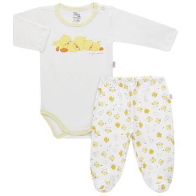 Imagem 1 do produto Pijama longo para bebe em suedine Piu Piu - Anjos Baby - AB1759006.004 PIJAMA BABY SUEDINE FEM PIU PIU T06-G