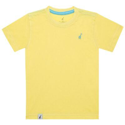 Imagem 1 do produto Camiseta básica em malha Amarela - Toffee - 900T1424 CAMISETA MC MALHA AMARELO-1