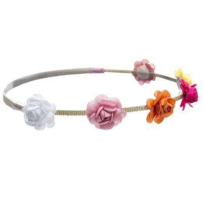 Imagem 2 do produto HeadBand corrente Flores Coloridas - Roana