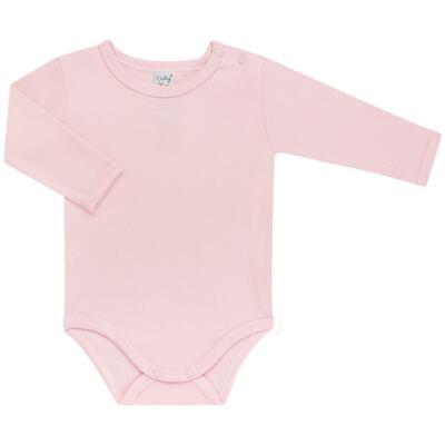 Imagem 2 do produto Kit 2 Bodies longos para bebe Rosa - Vicky Lipe - LTPBML16 PACK 2 BODIES ML ROSA BB-RN