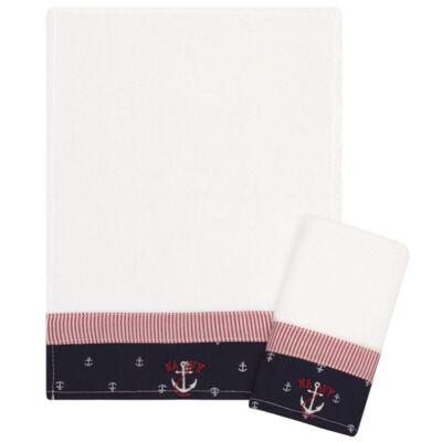 Imagem 1 do produto Kit com 2 fraldas de boca atoalhadas Navy - Classic for Baby