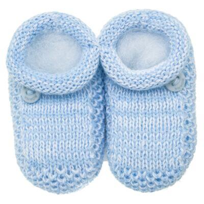 Imagem 1 do produto Sapatinho para bebe em tricot Azul - Roana