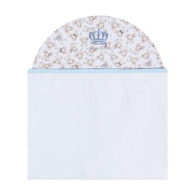 Imagem 1 do produto Toalha com capuz Prince Bear - Classic for Baby