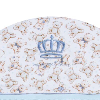Imagem 2 do produto Toalha com capuz Prince Bear - Classic for Baby