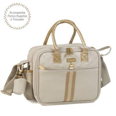 Imagem 1 do produto Bolsa térmica organizadora para bebe Sweet Marfim - Masterbag