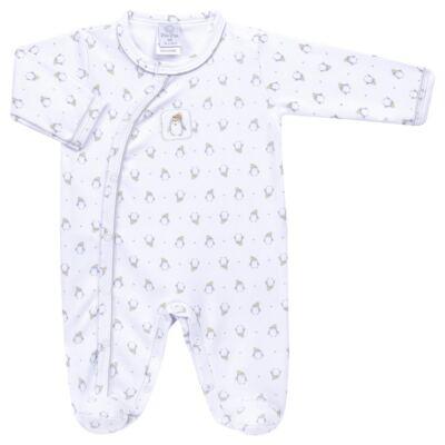 Imagem 1 do produto Macacão longo para bebe em algodão egípcio Penguin - Piu-Piu - PIU912025.001 MACACÃO COMP. PINGUIM -RN