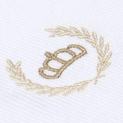 Imagem 2 do produto Cueiro em flanela Coroinha Marfim - Classic for Baby