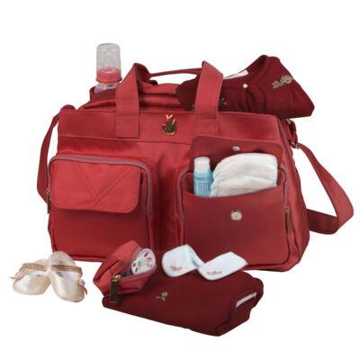 Imagem 2 do produto Bolsa para bebe Toulouse Classic Nylon Cereja - Masterbag